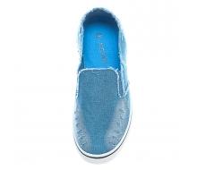 Кеды голубой джинс 32-37