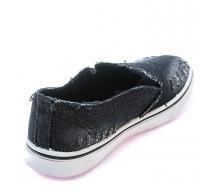 Кеды черный джинс 32-37